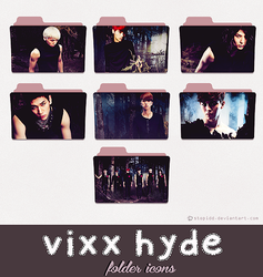 vixx hyde folder icons {REQUEST} by stopidd