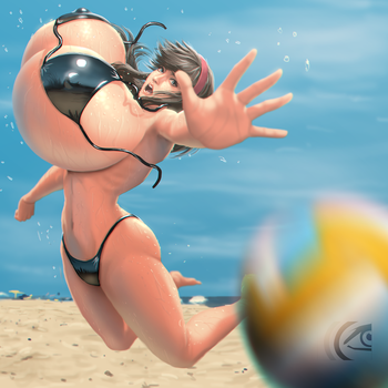 DOAX3 Hitomi by mangrowing