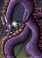 The Purple Dragon by jimmysworld