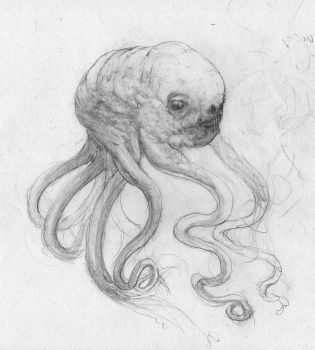 ManHeadSquid Sketch? by BerSverk88