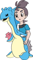 Verity Into Lapras with Sem 1 by TheSuitKeeper89