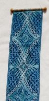 lace wall hanging by averil-hylton