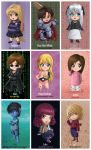 OC Chibi Collection - Sheet 2 by Fugaz-Star