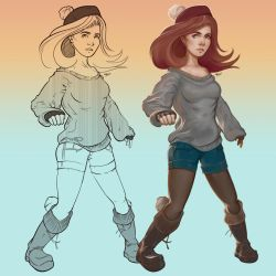 Drawing character concepts! by Sukus