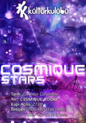 Cosmique Stars Party Poster by JeasrpPs