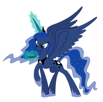 Luna and 3DS by zelc-face