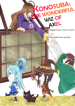 The Wonderful Wiz of Axel - Front Cover by AlphaDeltaZeta