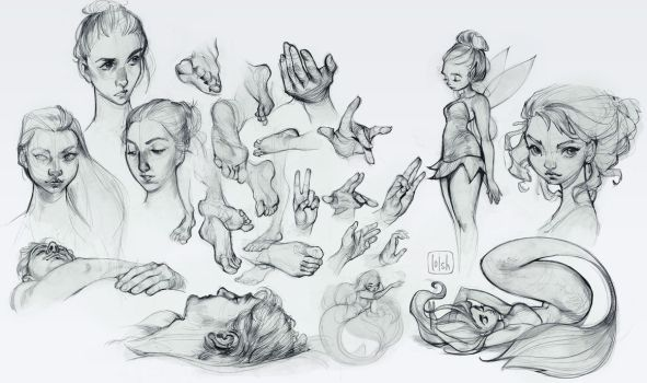 sketchdump 9 by loish