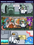 Hots comic - Medivac Dropship 2 by Memoski