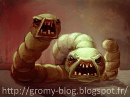 Larry Jr. Binding of Isaac by Gromy