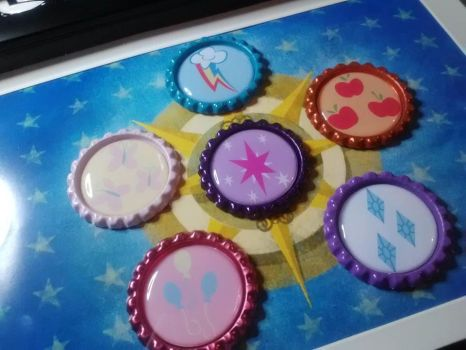 The Elements of Harmony - Bottle Cap Style by ShinseiKatai