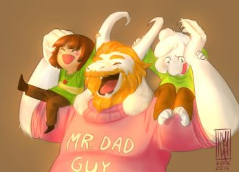 Mr. Dad Guy by KumaMask