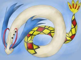 Shiny Milotic by Shinkou-san