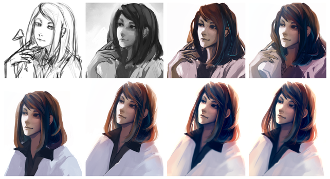 Step-by-Step: Pretty Doctor by m0queur
