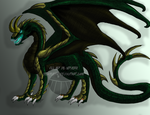 Loki Dragon by DCWyverx