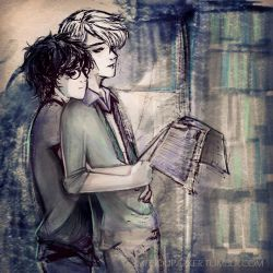 Drarry Sketch by MitsouParker
