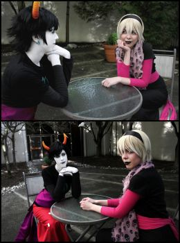 Luminescent Date by kkcosplay