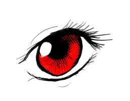 Red eye. by Integra4Hell