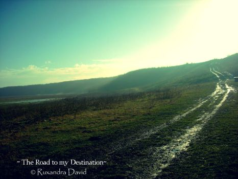 The Road to my Destination by ruxi27