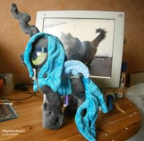 (Work in Progress) Queen Chrysalis Plushie by HipsterOwlet