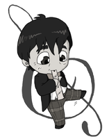 Second Doctor Chibi by Kamajii-the-mog