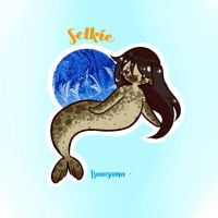 Mermay Day 10 - Selkie ~ by Tsunesamaa