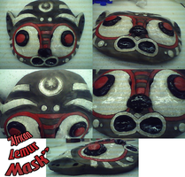 African Lemur Mask by oober-zombie