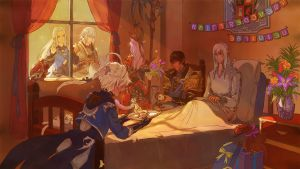 [FFXIV] Our Little Family Reunion by Athena-Erocith