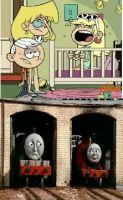 Henry and James react to Leni by Flurr4