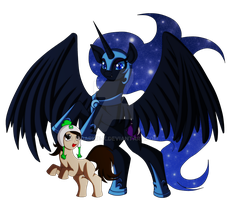 I love Nightmare Moon so much! by x-Darkie-x