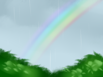 A Rainbow in the sky by Alli-RZStar