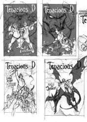 Tenacious D Sketches 1of2 by J-Scott-Campbell