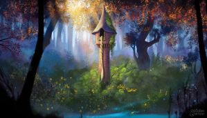 Tower of Rapunzel by maril1