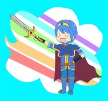 Marth's Ray of Light by Azngeek