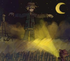 Just A Scarecrow by Friendlyfoxpal