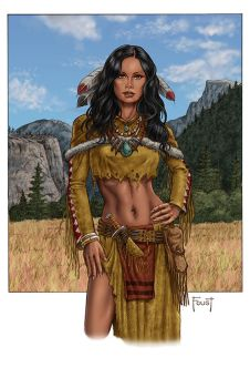 Medicine Woman by MitchFoust