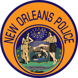 New Orleans Police shoulder patch by tempest790