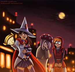 Little Witch Halloween - Halloween 2017 by Arabesque91