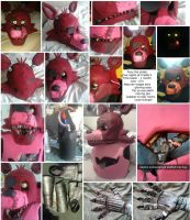 Foxy - Five nights at freddy's cosplay by sasukeharber