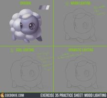 Exercise 35 Practice Sheet: Mood Lighting by CGCookie