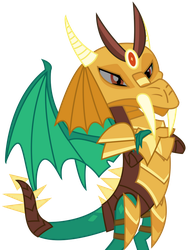 Vector - Masked Dragon by SketchMCreations