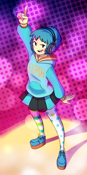 Dance, Fuuka! by joannawentbananas