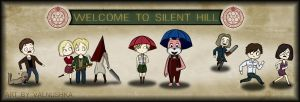 Silent Hill 1-4 by Valnushka
