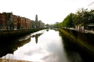 Summer on the Liffey by amerindub