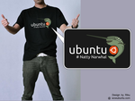 Ubuntu Natty T-shirt by rikulu
