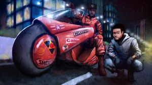 Comission: Make Me Akira by IsiacDaGraca