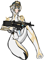 Warframe Mag prime by ilageater