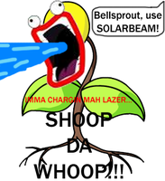Bellsprout, use Solarbeam