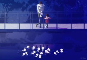 On the little bridge by PascalCampion