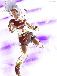 Commission: Kale Ultra Instinct Mastered/ Cleaned by ChigoSenpai